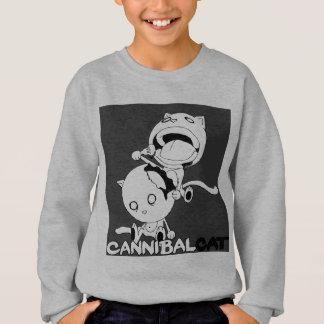 Cannibal Cat Grey Sweatshirt