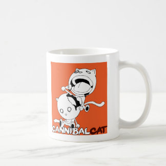 Cannibal Cat Orange Coffee Mug