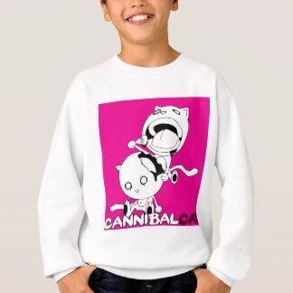 Cannibal Cat Pink Sweatshirt