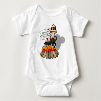 Cannibal Cooking Pot Baby Bodysuit