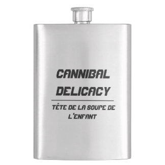 Cannibal Delicacy Hip Flasks