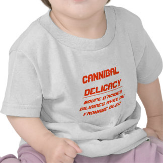 Cannibal Delicacy Tshirts