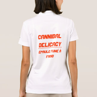 Cannibal Delicacy Polo T-shirt
