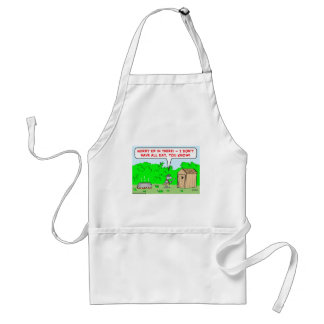 cannibal hurry up adult apron
