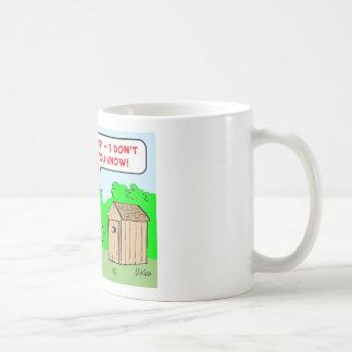 cannibal hurry up coffee mug