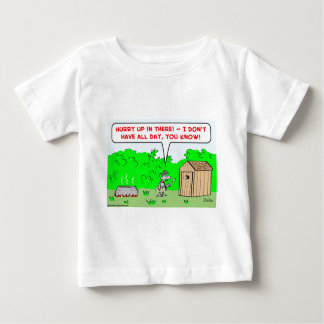 cannibal hurry up infant t-shirt