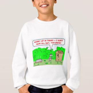 cannibal hurry up sweatshirt