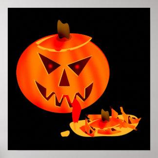 Cannibal Jack O Lantern Poster