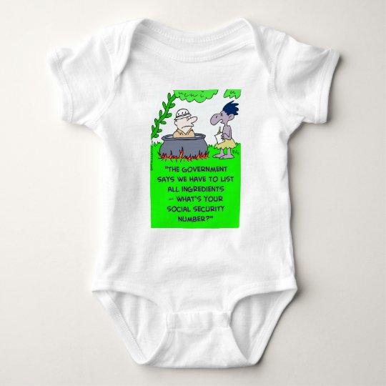 cannibal list ingredients social security number baby bodysuit