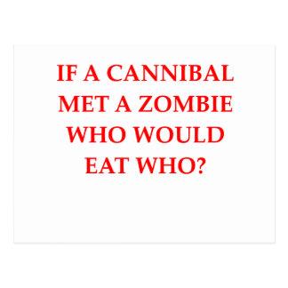 cannibal postcard
