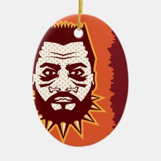 Cannibal Vector Ceramic Ornament