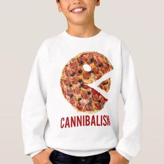 Cannibalism Pizza Eat Funny Food Sweatshirt