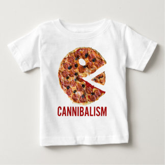 Cannibalism Pizza Eat Funny Food T-shirt