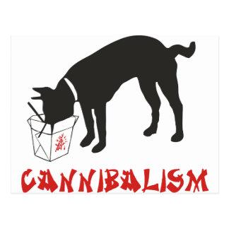 Cannibalism Postcard