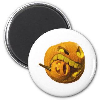 Cannibalistic Pumpkin Magnet