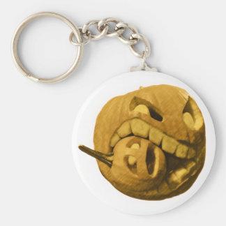 Cannibalistic Pumpkin - Vintage Design Keychain