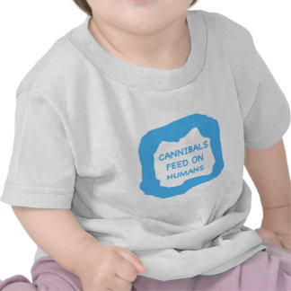 Cannibals feed on humans .png t shirt