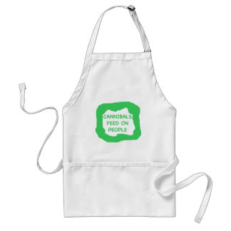 Cannibals feed on people .png adult apron