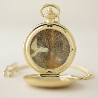 Cannibal's Herald Gold Pocket Watch