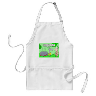 Cannibals use lethal injection now. adult apron