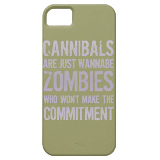 Cannibals Wannabe Zombies iPhone 5 Covers