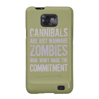Cannibals Wannabe Zombies Galaxy S2 Case