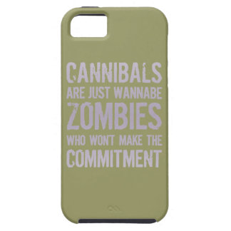 Cannibals Wannabe Zombies iPhone 5 Case