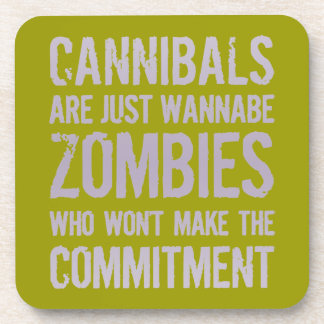 Cannibals Wannabe Zombies Coaster
