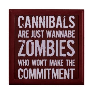 Cannibals Wannabe Zombies Trinket Box