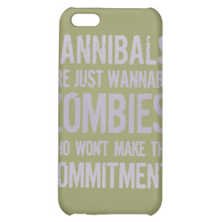 Cannibals Wannabe Zombies iPhone 5C Cover
