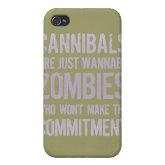 Cannibals Wannabe Zombies iPhone 4/4S Cases