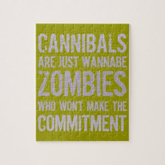 Cannibals Wannabe Zombies Jigsaw Puzzles