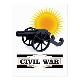 cannin sun civil war postcard