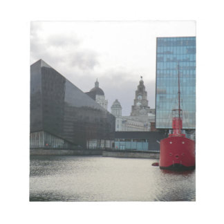 Canning Dock Liverpool Memo Notepad