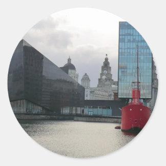 Canning Dock Liverpool Sticker