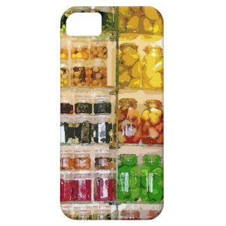Canning Food Preserving Watercolor iPhone 5 Case