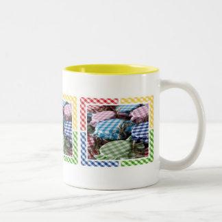 Canning Gingham Mug