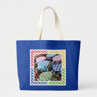 Canning Gingham Tote Bag