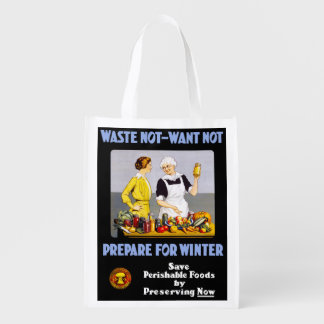 Canning Grocery Bag