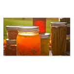 Canning in Autumn Business Card Templates