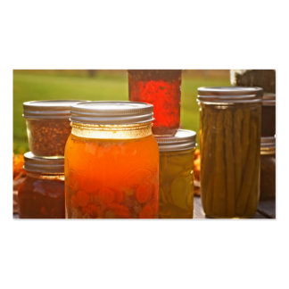 Canning in Autumn Double-Sided Standard Business Cards (Pack Of 100)