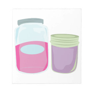Canning Jars Notepad