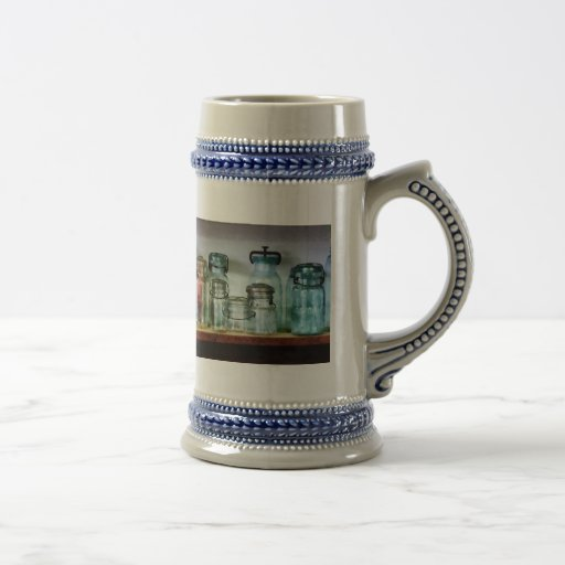 Canning Jars on Shelf Coffee Mug