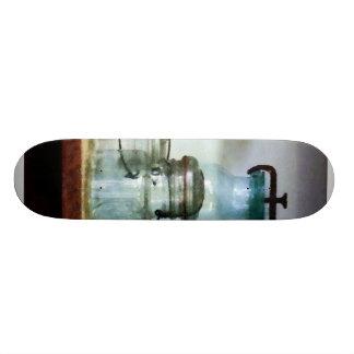 Canning Jars on Shelf Skate Boards