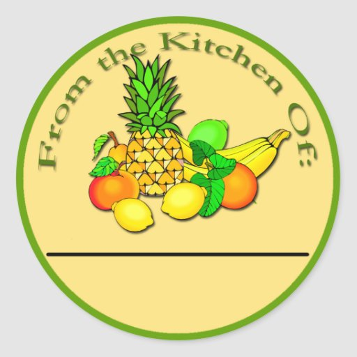 Canning Labels - Stickers for Canning