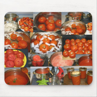 Canning Tomatoes Mouse Pad