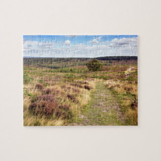Cannock Chase in Staffordshire souvenir photo Jigsaw Puzzle