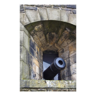 Cannon at Edinburgh Castle Stationery Paper