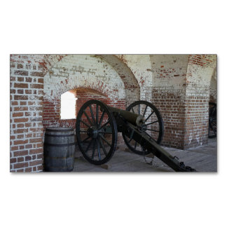 Cannon at Fort Pulaski Business Card Magnet