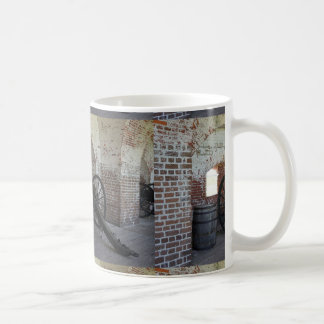 Cannon at Fort Pulaski Coffee Mug